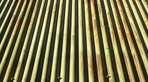 corrugated steel profile