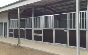New Stable Install in new build champion stables