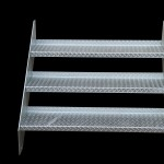 steel stairs heavy duty galvanised