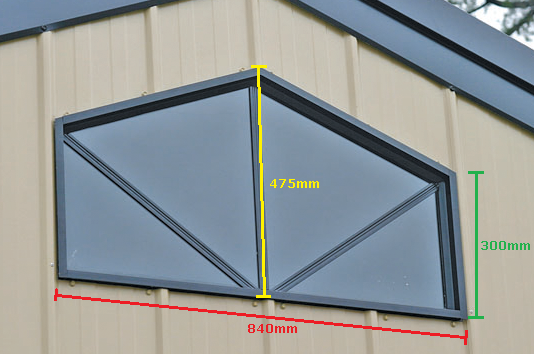 Barn Window - Measurements