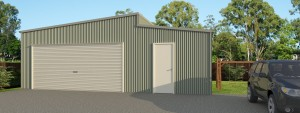 Wide Span Sheds handyman's workshop