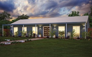 Wide Span Sheds Aussie retreat shed home