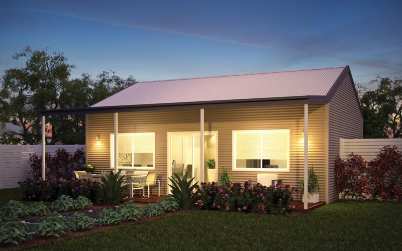 Wide Span Sheds the cabin shed home