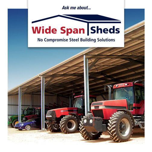 Wide Span Sheds steel buildings