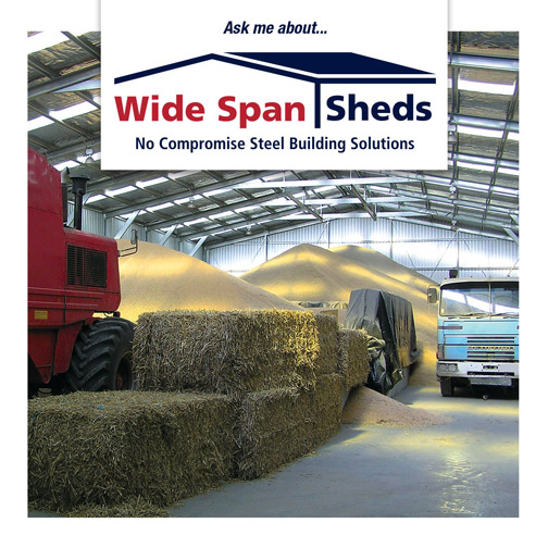Commercial Buildings – Wide Span Sheds
