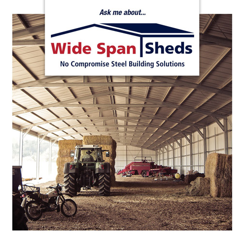 Wide Span Sheds rural and farm sheds