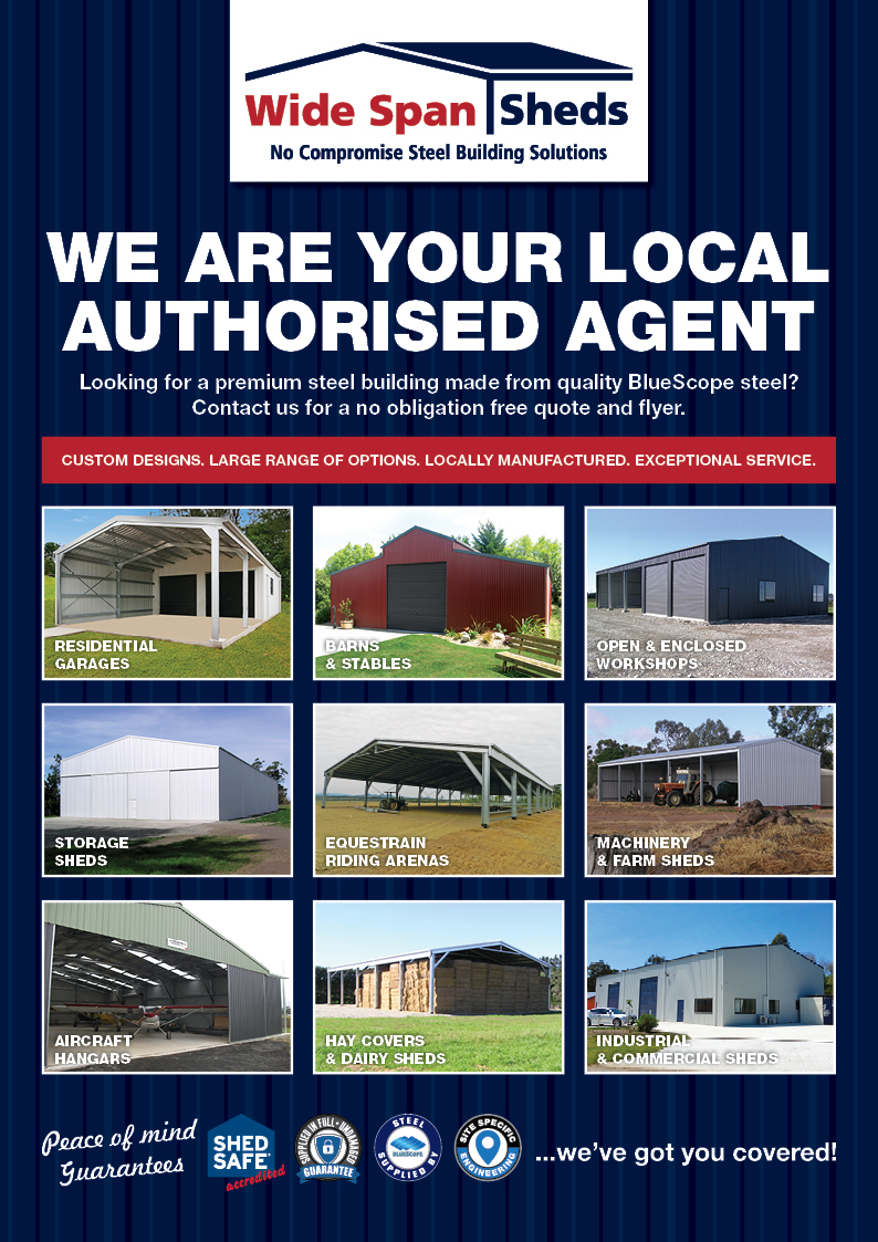 Barns Amp Stables Wide Span Sheds Steel Sheds In Australia