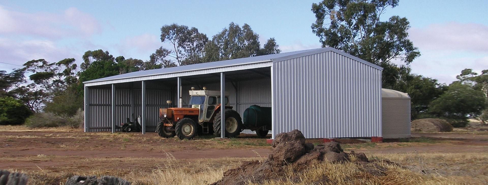 Wide Span Sheds farm sheds