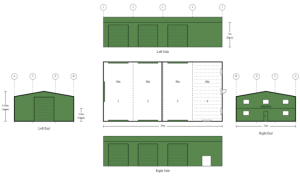 12m-x-24m-x-5m-Commercial-Home-Office-Mezzanine-Live-in-Shed