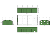 12M X 24M X 5M COMMERCIAL SHED KIT