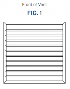 How to Install - Colorbond Steel Wall Vents Fig 1