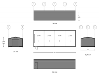 5M X 15M X 2.5M LONG SHED FOR STORAGE SHELVES